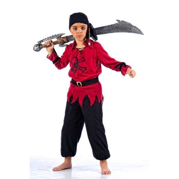Disfraz pirata ni o - Maquillaje pirata nina ...