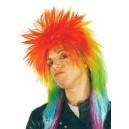 Peluca punki multicolor